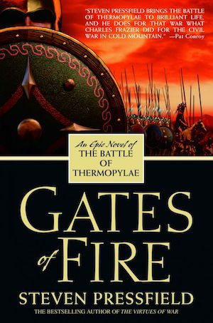 A historical novel of the 300 Spartans who fought King Xerxes million-man army at the Battle of Thermopylae. Their courage is credited with saving Western Civilization. An amazing novel.