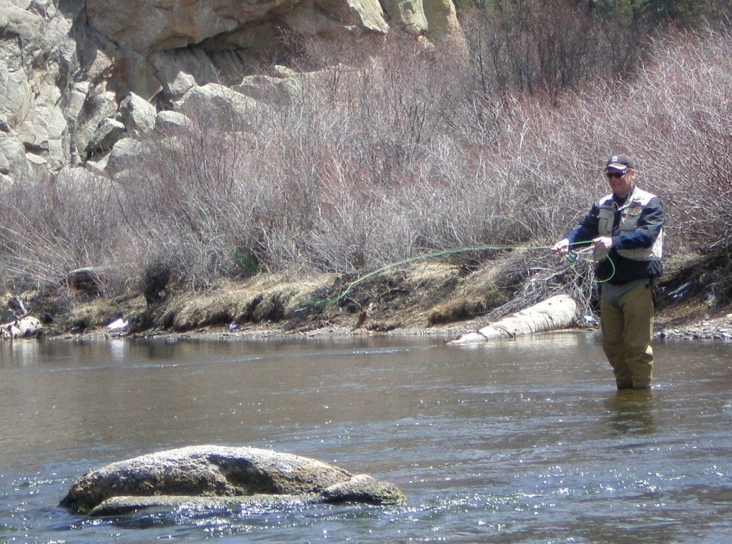 Five things writers can learn from fly fishermen greg for Fishing colorado springs